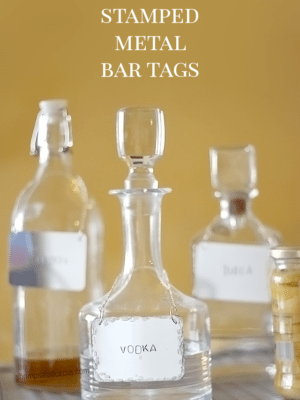 DIY Stamped Metal Bar Tags thumbnail