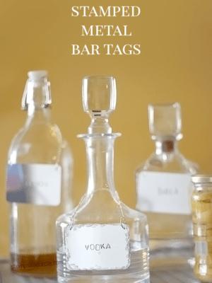 DIY Stamped Metal Bar Tags thumbnail