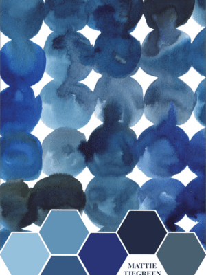 Mattie Tiegreen & the Blue Dots – Color Inspiration thumbnail