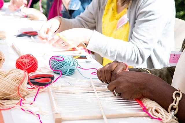 Michaels Makers Summit - Weaving Workshop