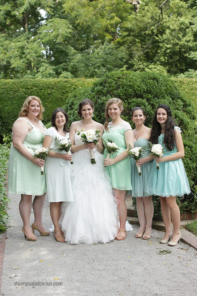 Shrimp Salad Circus Wedding Photos - Bridesmaids
