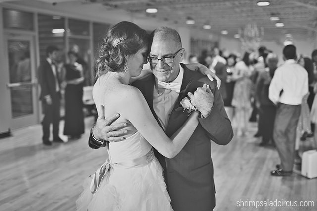 Shrimp Salad Circus Wedding Photos - Father Daughter Dance
