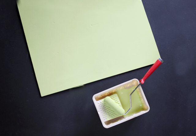 DIY Colorful Blog Backdrops Step 3
