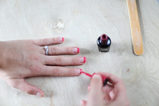 DIY Dragonfruit Manicure Tutorial - Step 2