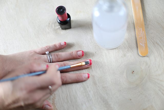 DIY Dragonfruit Manicure Tutorial - Step 3
