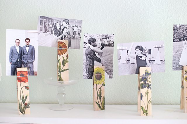 DIY Botanical Photo Clip Tutorial