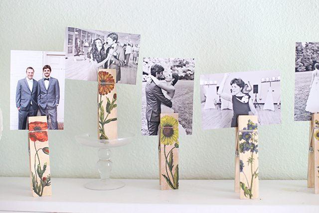 DIY Botanical Photo Clip Tutorial