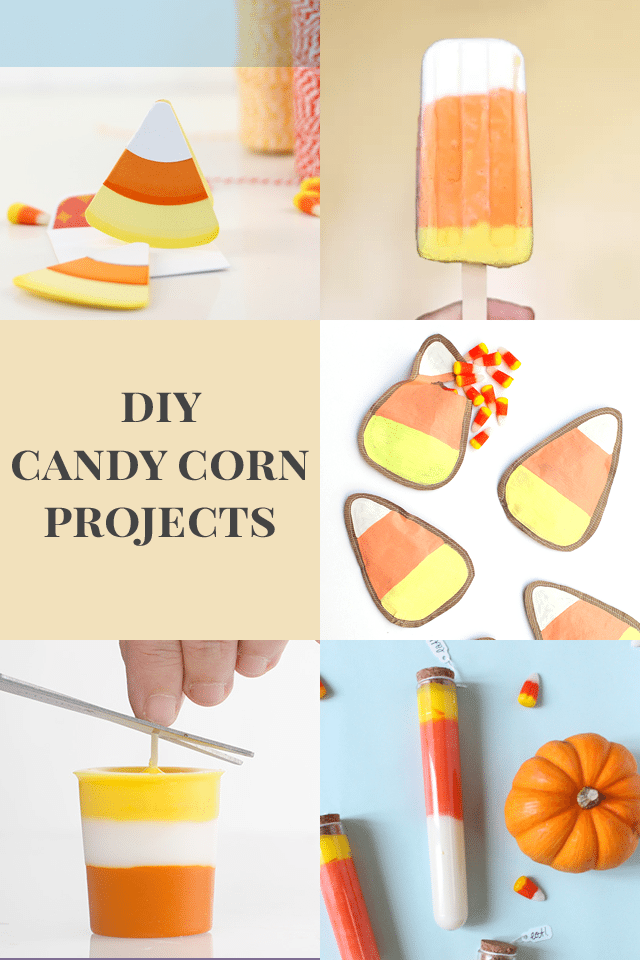 DIY Candy Corn Projects