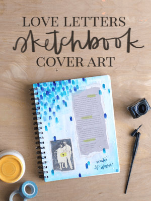 DIY Mixed Media Sketchbook Cover thumbnail