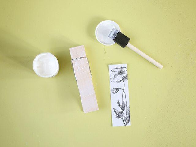 DIY Photo Holders - Step 2