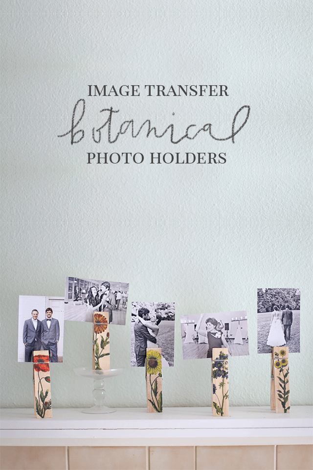 DIY Photo Holders