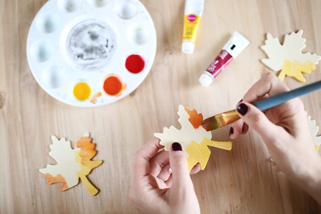 DIY Thanksgiving Place Cards - Step 2