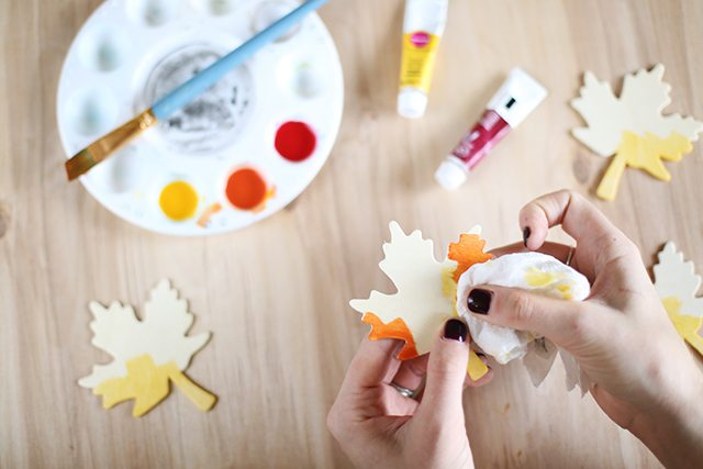 DIY Thanksgiving Place Cards - Step 3