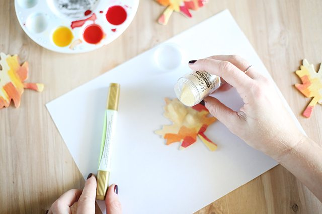 DIY Thanksgiving Place Cards - Step 8