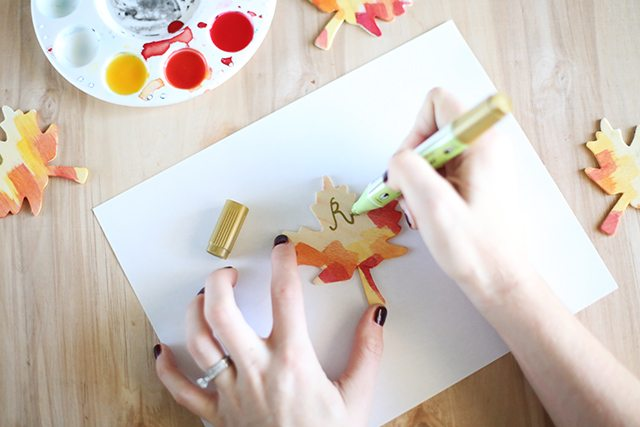 DIY Thanksgiving Place Cards - Step7