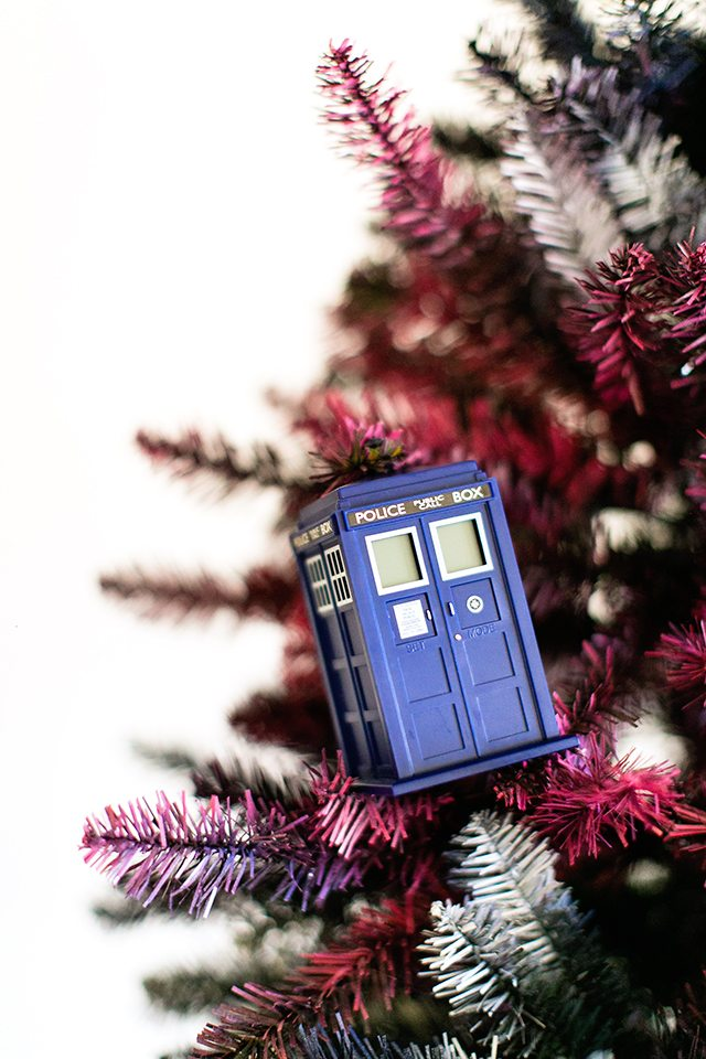 Doctor Who Christmas Tree - Tardis Ornament