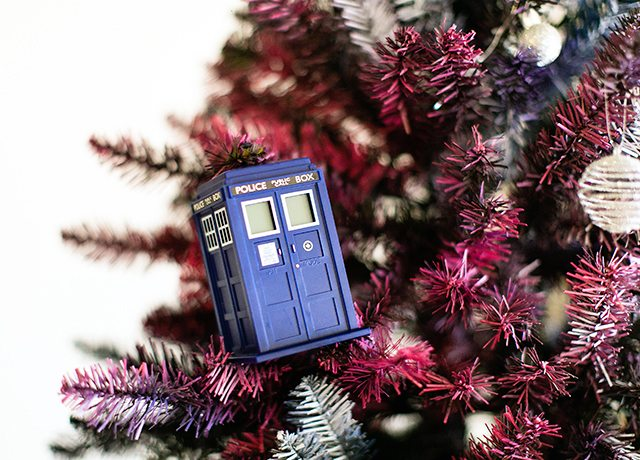Doctor Who Christmas Tree - Tardis Ornaments