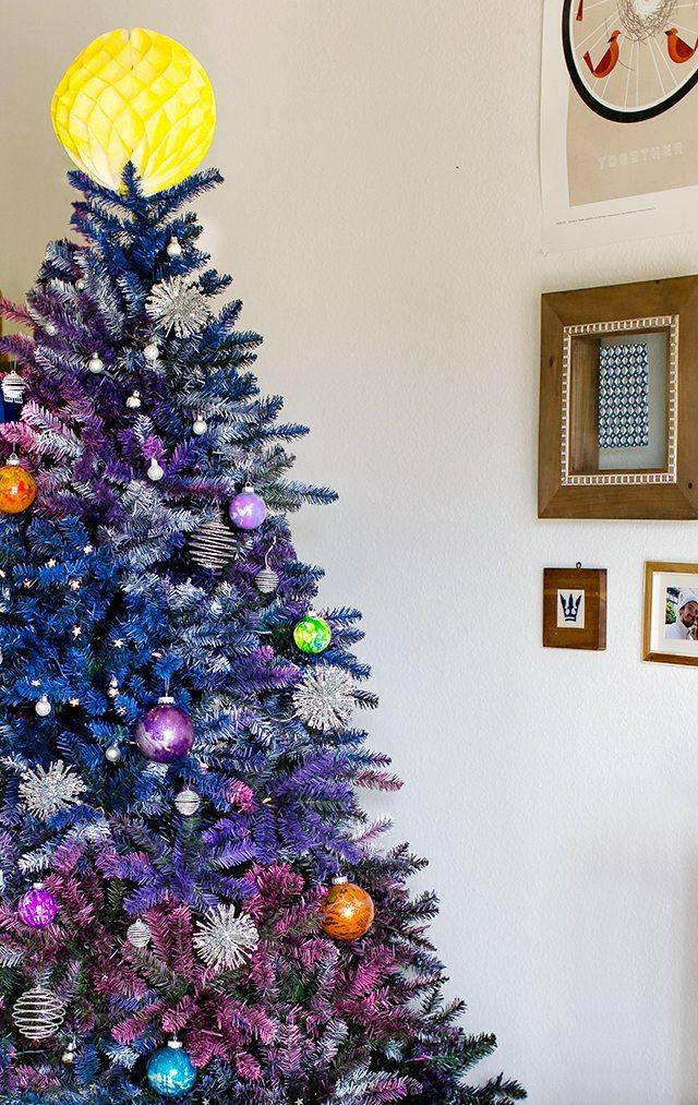 Diy Doctor Who Galaxy Christmas Tree