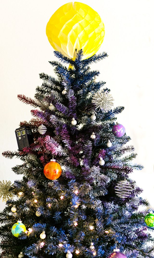 Doctor Who Galaxy Christmas Tree