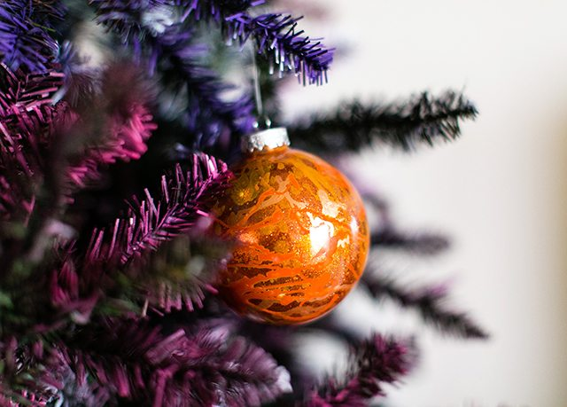 Galaxy Christmas Tree - Planet Ornaments