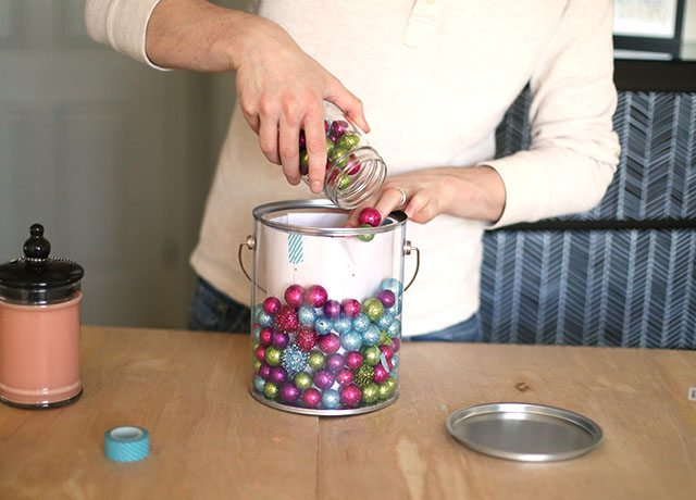 How to Wrap Christmas Presents - Candles Paint Can