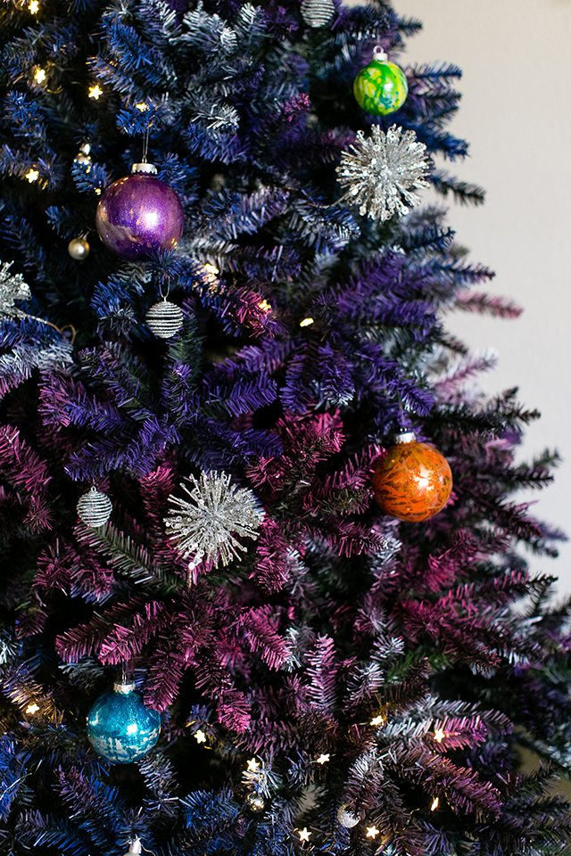 Outer Space Christmas Tree