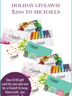 $200 Michaels Giveaway – The Holiday Collective thumbnail