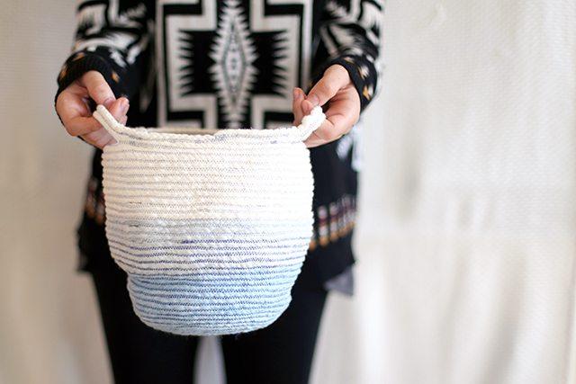 DIY Rope Basket 6