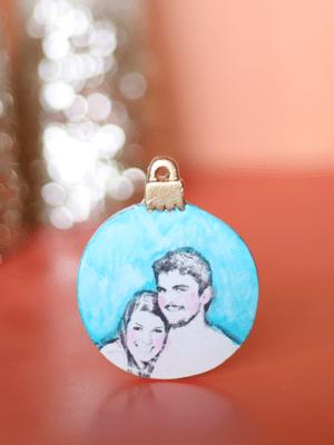 Image Transfer Christmas Ornament Photo Gifts thumbnail