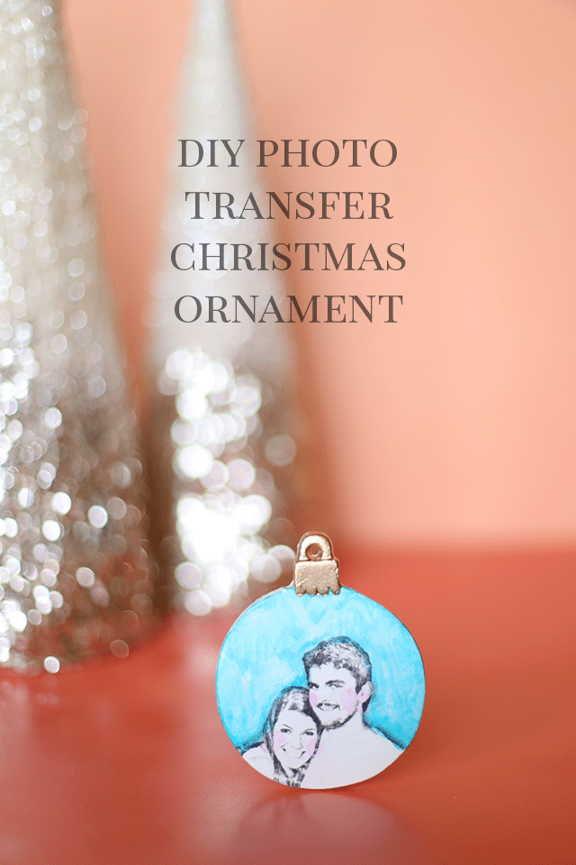 Image Transfer Christmas Ornament Photo Gifts