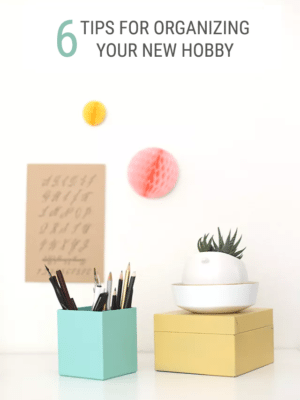 6 Easy Tips – How to Organize a New Hobby thumbnail