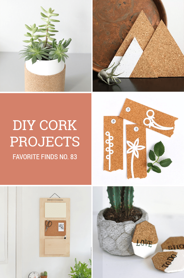 DIY Cork Projects - A Roundup on Shrimp Salad Circus