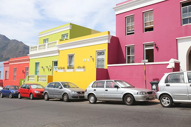 Cape Town Travel Guide - What to See - Bo Kaap Neighborhood with Colorful Houses