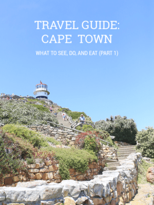 Cape Town Travel Guide Part 1 thumbnail