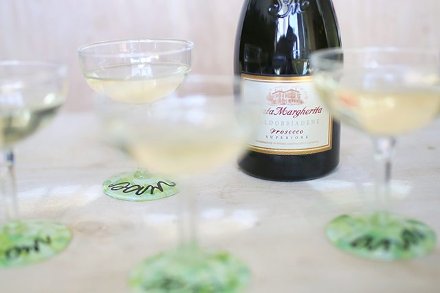 DIY Custom Wine Glasses - Perfect for a Wedding Shower or Bachelorette Party