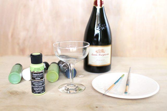 DIY Custom Wine Glasses - Supplies