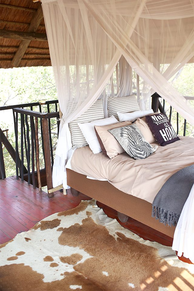 Good  Safari at Kruger Travel Guide Where to Stay Africa on Foot Tree House Bed