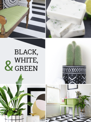Black Green Modern DIY Projects – Favorite Finds No. 86 thumbnail