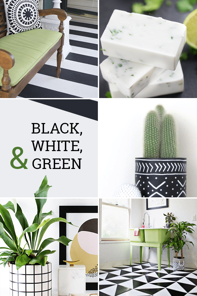 Black Green Modern Diy Projects Favorite Finds No 86