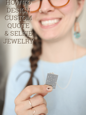 How to Design Custom Quote & Selfie Pendants with Jevelo Jewelry thumbnail