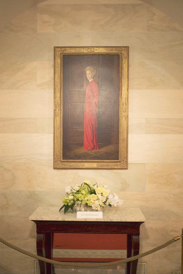Nancy Reagan Tribute at the White House