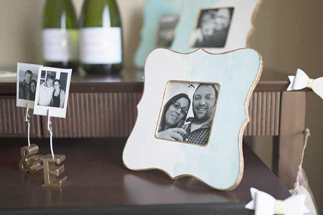 Easy DIY Watercolor Painted Wooden Picture Frame Tutorial