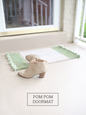 Pom Pom Rug Doormat – How To-sday thumbnail