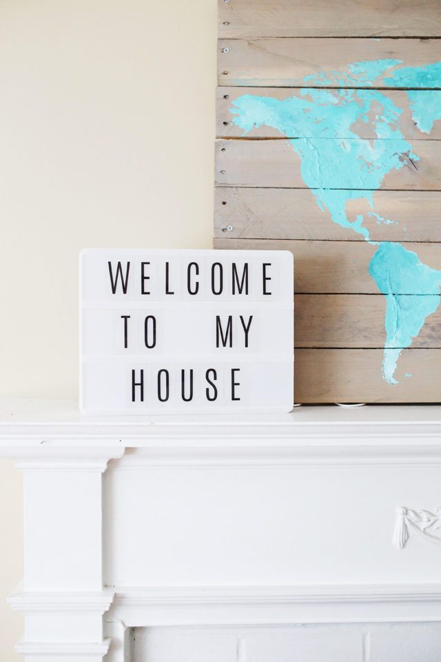 Welcome to My House Sign