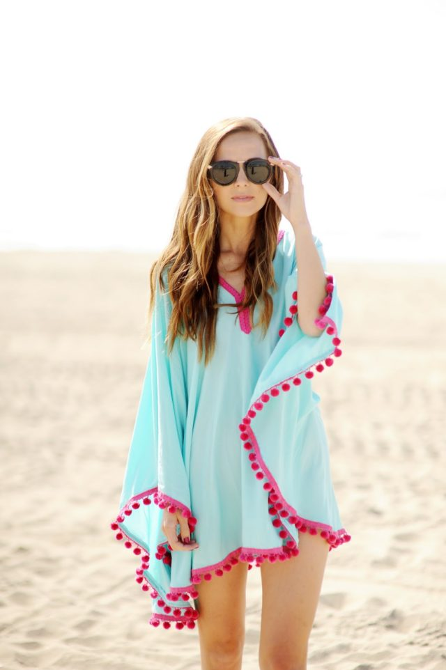 1 DIY Pom Pom Beach Coverup