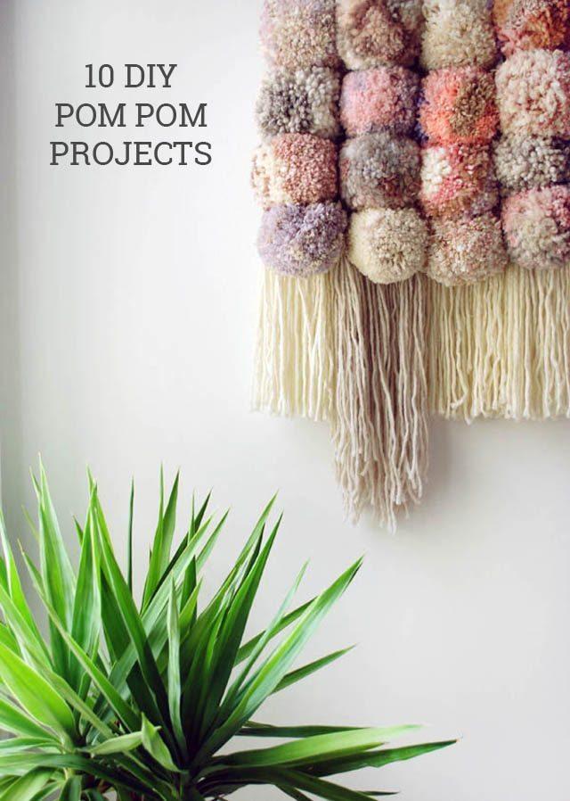 1 DIY Pom Pom Wall Hanging