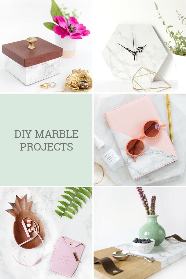 DIY Marble Projects