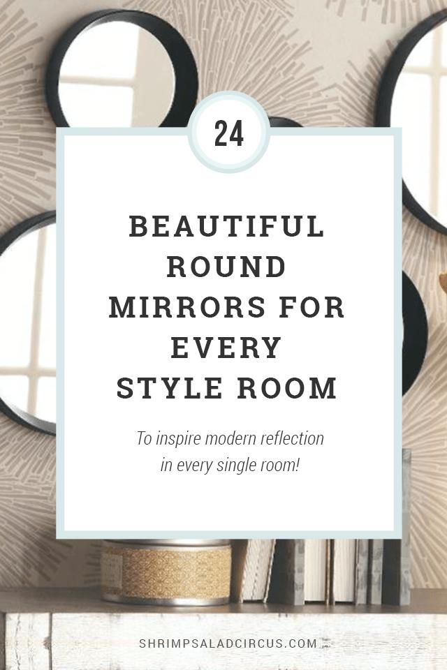 Round Mirror Ideas Under $150