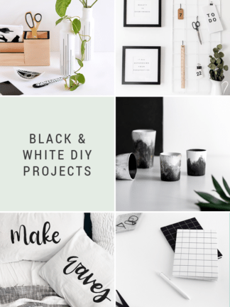 Black & White DIY Projects + Favorite Finds No. 88 thumbnail