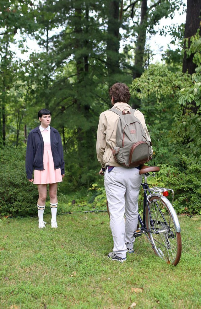DIY Stranger Things Couple Halloween Costume - Eleven and Mike